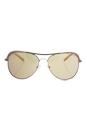 Michael Kors MK 1012 1107R1 Vivianna I - Rose Gold/Rose Gold by Michael Kors for Women - 58-15-135 mm Sunglasses