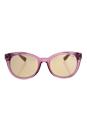 Michael Kors MK 6019 3053R1 Champagne Beach - Rose Havana/Rose Gold by Michael Kors for Women - 53-20-135 mm Sunglasses