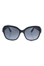 Michael Kors MK 6027 3099T3 Tabitha III - Black Glitter/Grey Gradient Polarized by Michael Kors for Women - 55-18-135 mm Sunglasses