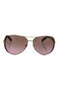 Michael Kors MK 5004 101414 Chelsea - Gold Dark/Rose Gradien by Michael Kors for Women - 59-13-135 mm Sunglasses