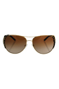 Michael Kors MK 1005 105713 Sadie I - Black Gold Leopard/Brown Gradient by Michael Kors for Women - 59-15-135 mm Sunglasses