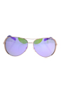 Michael Kors MK 5004 10034V Chelsea - Rose Gold/Purple by Michael Kors for Women - 59-13-135 mm Sunglasses