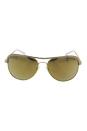 Michael Kors MK 1012 11127P Vivianna I - Gold/White/Liquid Gold by Michael Kors for Women - 58-15-135 mm Sunglasses