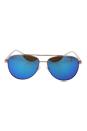 Michael Kors MK 5007 104525 Hvar - Rose Gold/Blue by Michael Kors for Women - 59-14-135 mm Sunglasses