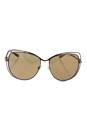 Michael Kors MK 1013 1121R1 Audrina I - Rose Gold/Gold by Michael Kors for Women - 58-15-140 mm Sunglasses