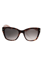 Prada SPR 09S UE0-4K0 - Spotted Brown Pink/Light Pink Grey Shaded by Prada for Women - 54-20-140 mm Sunglasses