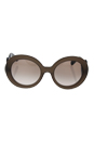 Prada SPR 27N UBU-4O0 - Brown/Brown Gradient by Prada for Women - 55-22-135 mm Sunglasses