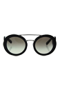Prada SPR 13S 1AB-0A7 - Black/Grey Grandient by Prada for Women - 54-25-135 mm Sunglasses