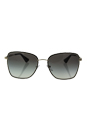 Prada SPR 52S 1AB-0A7 - Black/Pale Gold/Grey Gradient by Prada for Women - 58-19-140 mm Sunglasses