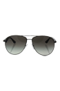 Prada SPR 53Q 5AV-0A7 - Gunmetal Grey/Grey Gradient by Prada for Women - 60-13-140 mm Sunglasses