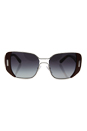 Prada SPR 59S USA-5D1 - Silver/Brown/Grey Gradient by Prada for Women - 54-16-135 mm Sunglasses