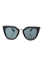 Prada SPR 53S UFV-3C2 - Grey Shaded/Dark Grey by Prada for Women - 52-21-140 mm Sunglasses