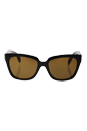 Prada SPR 07P DHO-5Y1 - Brown/Brown Polarized by Prada for Women - 56-18-140 mm Sunglasses