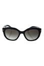 Prada SPR 12S 1AB-0A7 - Black/Grey Gradient by Prada for Women - 53-20-140 mm Sunglasses