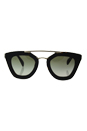 Prada SPR 14S 2AU-4M1 - Havana/Green Gradient by Prada for Women - 49-26-140 mm Sunglasses