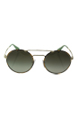 Prada SPR 51S 7S0-4K1 - Pale Gold/Green Gradient Grey by Prada for Women - 54-22-135 mm Sunglasses