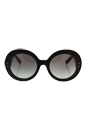 Prada SPR 27R UBT-0A7 - Ebony Malabar/Grey Gradient by Prada for Women - 55-22-135 mm Sunglasses