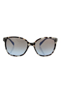 Prada SPR 01O UAO-4S2 - Spotted Opal Brown/Blue Gradient by Prada for Women - 55-17-140 mm Sunglasses