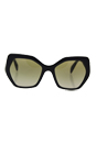 Prada SPR 16R 1AB-1X1 - Black/Brown Gradient by Prada for Women - 56-19-135 mm Sunglasses