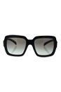 Prada SPR 07R 1AB-0A7 - Black/Grey Gradient by Prada for Women - 56-20-140 mm Sunglasses