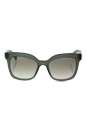 Prada SPR 24Q UEI-4P2 - Opal Dark Green/Grey Grandient by Prada for Women - 53-19-140 mm Sunglasses