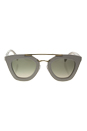 Prada SPR 14S UFP-3H2 - Ivory/Light Brown Gradient Light Green by Prada for Women - 49-26-140 mm Sunglasses