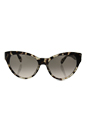 Prada SPR 08S UAO-4K0 - Spotted Opal Brown/Pink Gradient Grey by Prada for Women - 55-17-140 mm Sunglasses