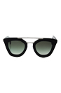 Prada SPR 14S 1AB-0A7 - Black/Grey Gradient by Prada for Women - 49-26-140 mm Sunglasses