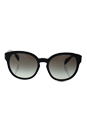 Prada SPR 18R 1AB-0A7 - Black/Grey Gradient by Prada for Women - 56-19-140 mm Sunglasses