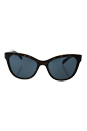 Prada SPR 21S 2AU-2K1 - Havana/Dark Blue by Prada for Women - 56-19-140 mm Sunglasses