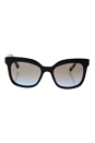 Prada SPR 24Q DHO-4S2 - Brown/Light Blue Gradient Light Brown by Prada for Women - 53-19-140 mm Sunglasses