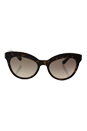 Prada SPR 23Q 2AU-3D0 - Havana/Light Brown Gradient Light Grey by Prada for Women - 53-19-140 mm Sunglasses