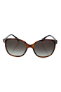 Prada SPR 01O TKR-0A7 - Havana/Grey Gradient by Prada for Women - 55-17-140 mm Sunglasses