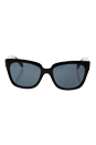 Prada SPR 07P 1AB-5Z1 - Black/Grey Polarized by Prada for Women - 56-18-140 mm Sunglasses