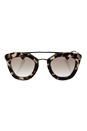 Prada SPR 09Q UAO-1L0 - Spotted Opal Brown/Brown Gradient by Prada for Women - 49-26-140 mm Sunglasses
