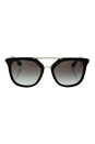 Prada SPR 13Q 1AB-0A7 - Black/Grey Gradient by Prada for Women - 54-20-140 mm Sunglasses
