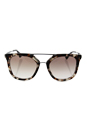 Prada SPR 13Q UAO-1L0 - Spotted Opal Brown/Brown Gradient by Prada for Women - 54-20-140 mm Sunglasses