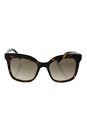 Prada SPR 24Q 2AU-3D0 - Havana/Light Brown Gradient by Prada for Women - 53-19-140 mm Sunglasses