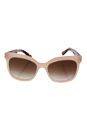Prada SPR 24Q UEW-0A6 - Opal Pink/Brown Gradient by Prada for Women - 53-19-140 mm Sunglasses