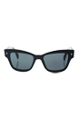 Prada SPR 29R 1AB-1A1 - Black/Grey by Prada for Women - 51-18-140 mm Sunglasses