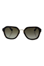 Prada SPR 25R 2AU-4M1 - Havanna/Green Gradient by Prada for Women - 55-21-140 mm Sunglasses