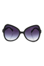 Prada SPR 05S UFG-4W1 - Matte Alluminium Grey/Violet Gradient by Prada for Women - 56-19-135 mm Sunglasses