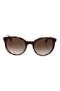 Prada SPR 17S UE0-0A6 - Spotted Brown Pink/Brown Shaded by Prada for Women - 53-21-140 mm Sunglasses