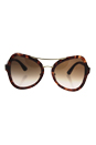 Prada SPR 18S UE0-0A6 - Spotted Brown Pink/Brown Gradient Pink by Prada for Women - 55-20-135 mm Sunglasses