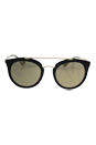 Prada SPR 23S 1AB-1C0 - Black/Light Brown Gold by Prada for Women - 52-22-140 mm Sunglasses