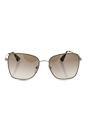 Prada SPR 52S UFH-4O0 - Silver/Gradient Brown Silver by Prada for Women - 58-19-140 mm Sunglasses