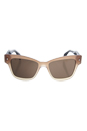 Prada SPR 29R UBI-8C1 - Brown Gradient/Brown by Prada for Women - 51-18-140 mm Sunglasses