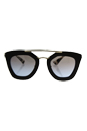 Prada SPR 09Q DHO-4S2 - Brown/Light Brown by Prada for Women - 49-26-140 mm Sunglasses