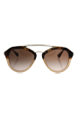 Prada SPR 12Q ROZ-0A6 - Havana Brown Gradient/Brown Gradient by Prada for Women - 54-18-135 mm Sunglasses
