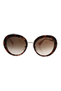 Prada SPR 16Q UE0-0A6 - Spotted Brown Pink/Brown Gradient Pink by Prada for Women - 55-21-135 mm Sunglasses